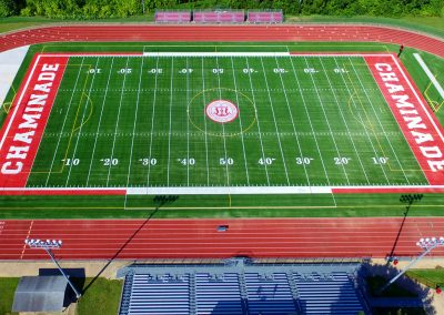Chaminade Football Field Ariel View