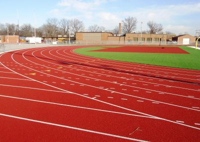 Freeburg Athletic Track