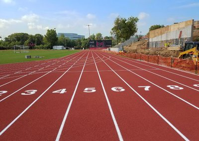 Maryville University Running Track