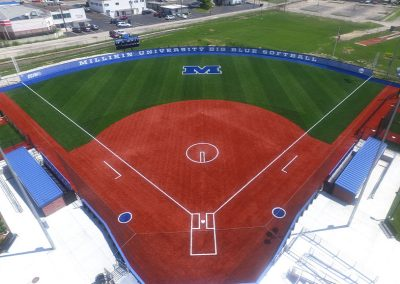 Artificial Softball Field