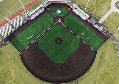 SLU Baseball Turf