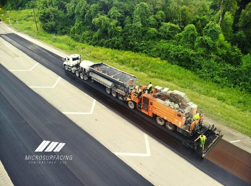 Extend the Pavement Life-Cycle with Micro-surfacing