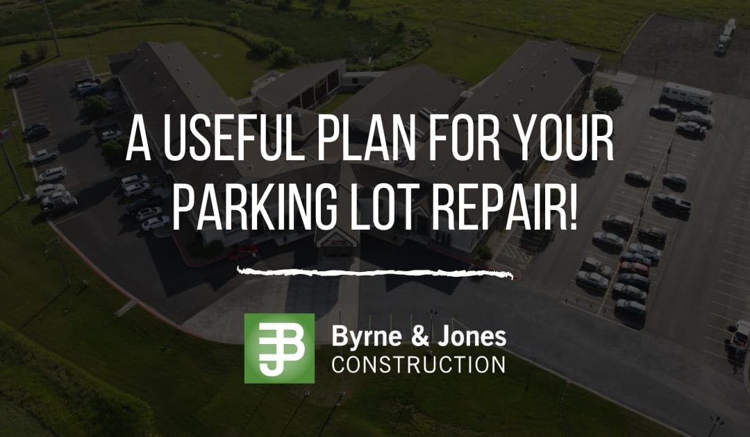 A Useful Plan For Your Parking Lot Repair