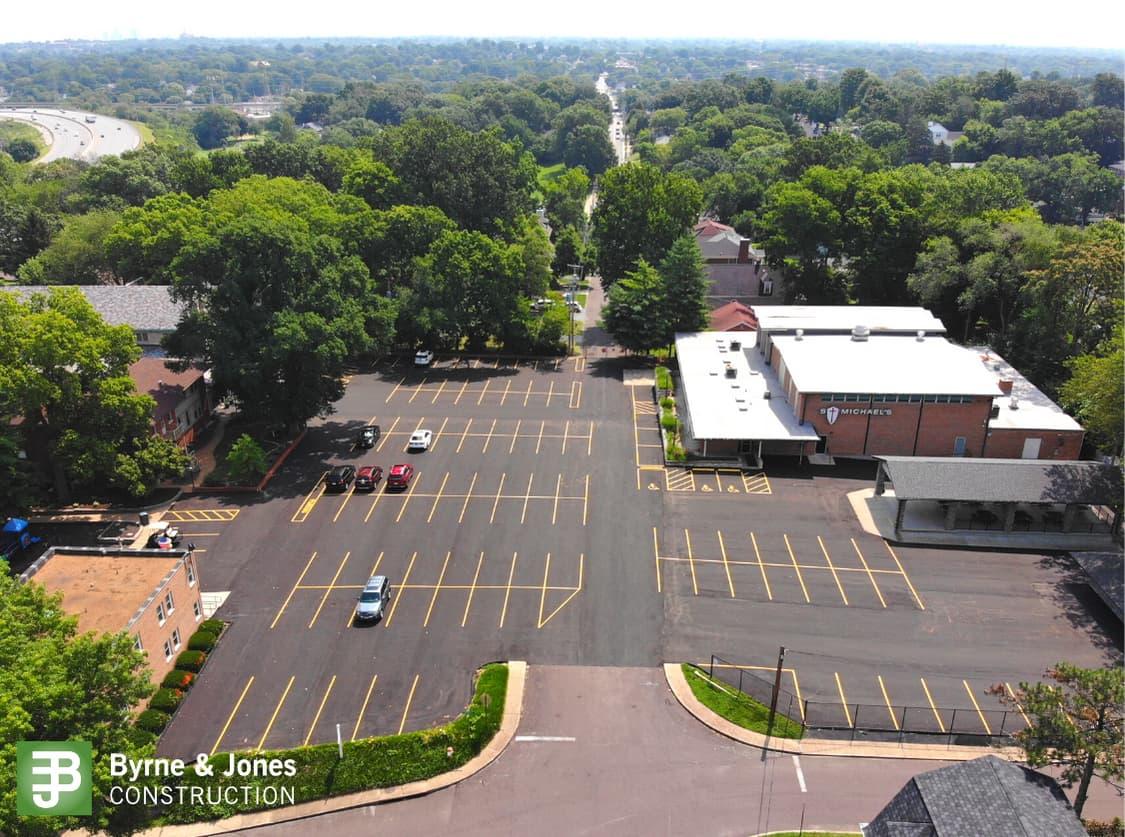 St. Michaels Parking Lot