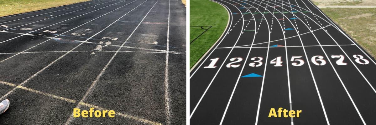 Running Track Repair