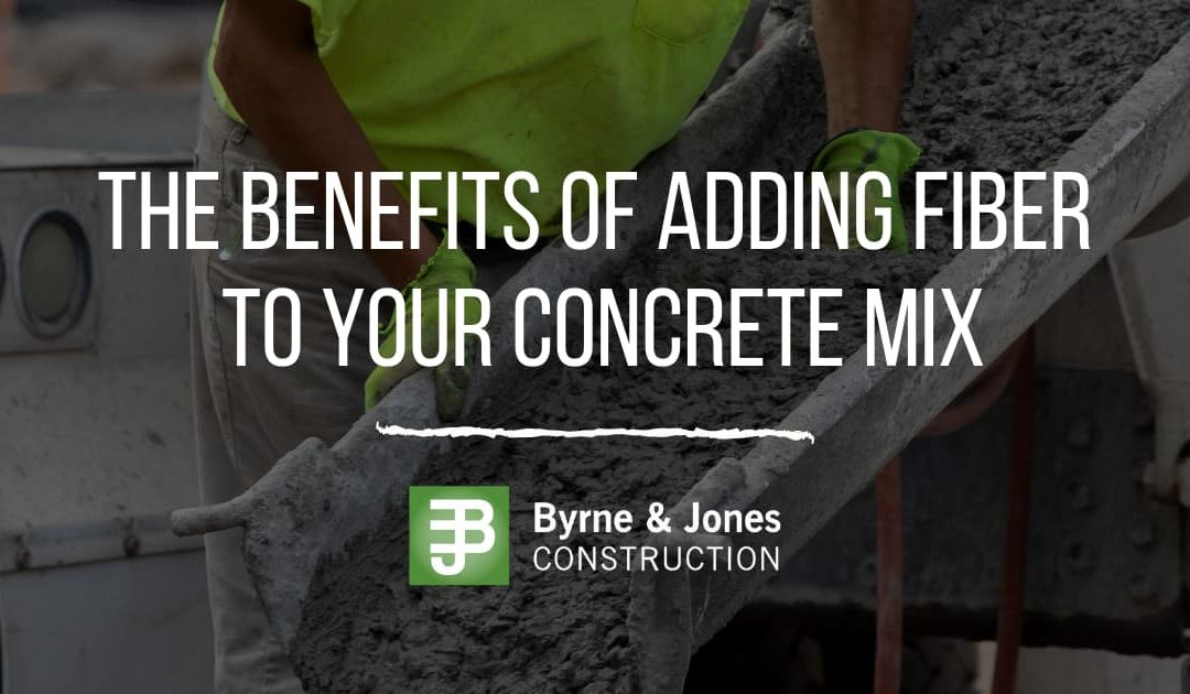 The Benefits of Adding Fiber to your Concrete Mix