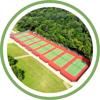 ProBounce Tennis Court
